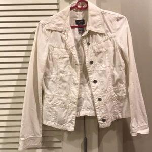 Mexx white denim jacket